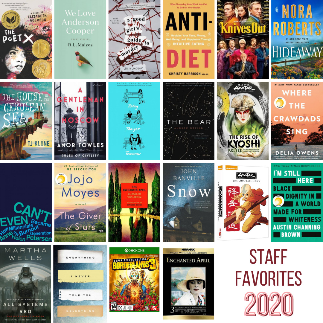 book covers staff faves 2020